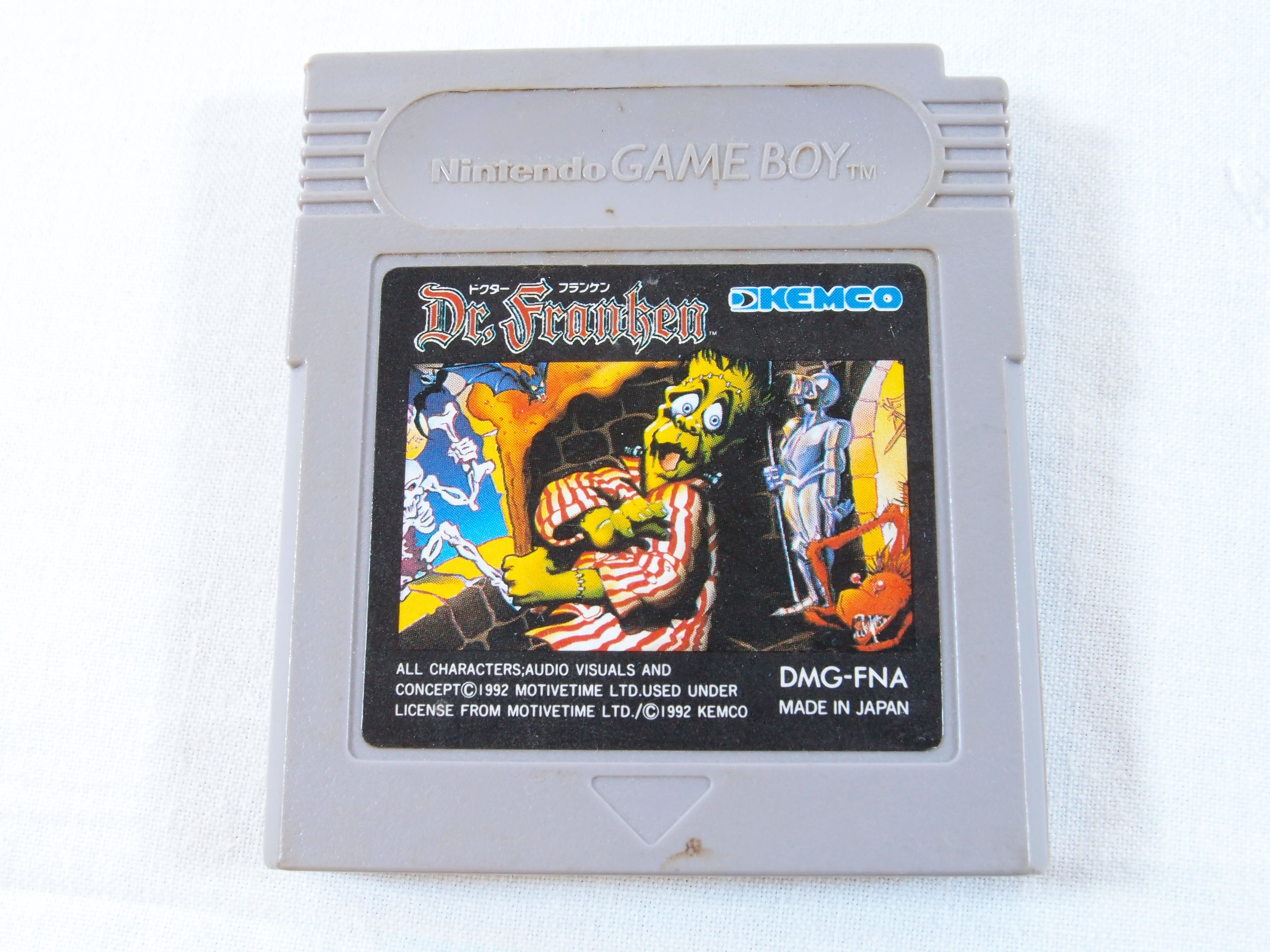 Dr. Franken (Nintendo Game Boy Color, 1992) - DMG-FNA - Japan