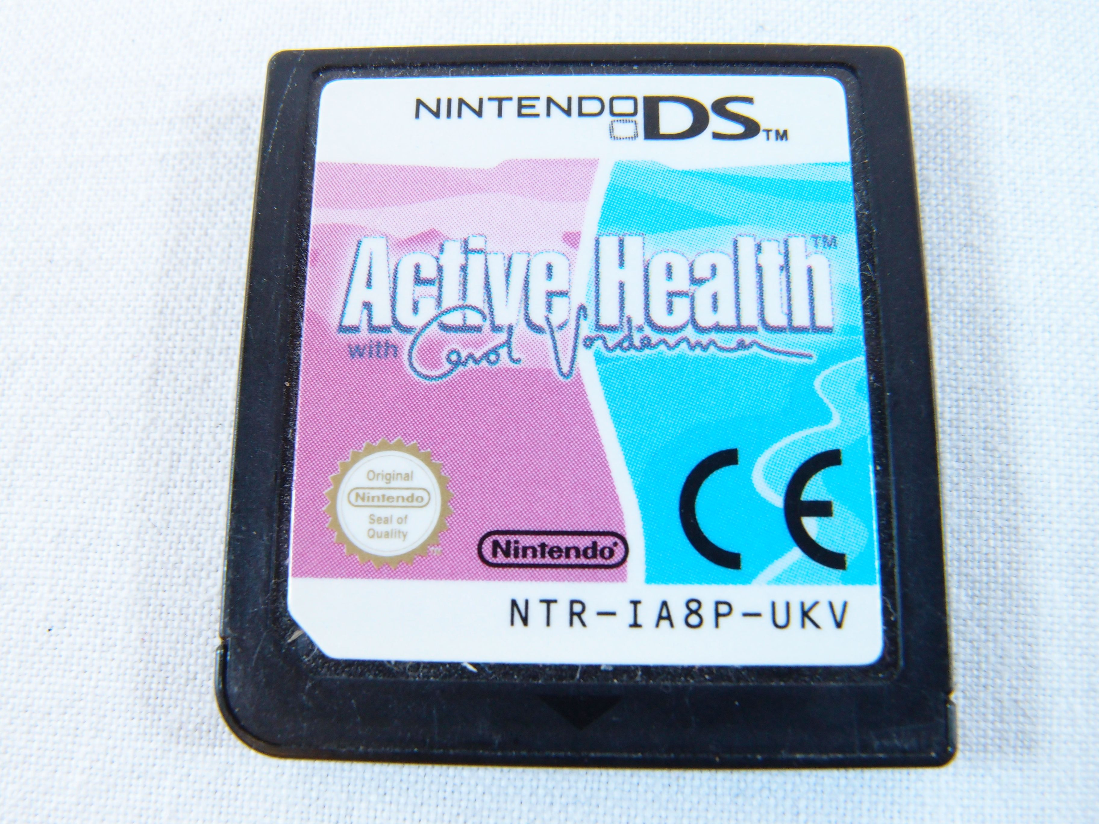 Active Health with Carol Vorderman (Nintendo DS, 2009)