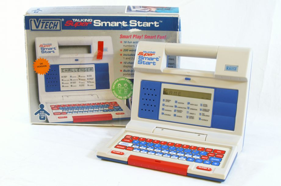 Vintage Vtech Talking Super Smart Start Learning Computer