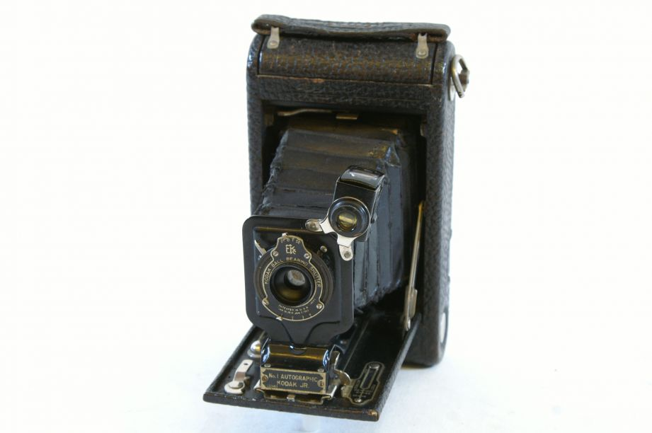 Kodak JR. Autographic No. 1 Kodak Junior 120mm Camera with Leather Case