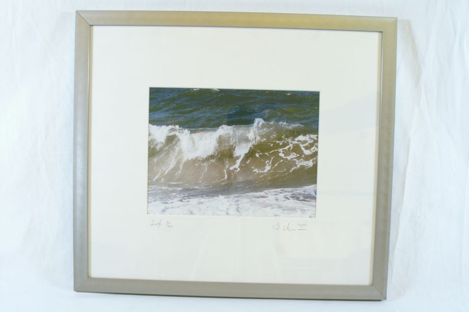 "Limited Edition (5/100) ""Surf"" Print by Wolfgang Altmann 2002"