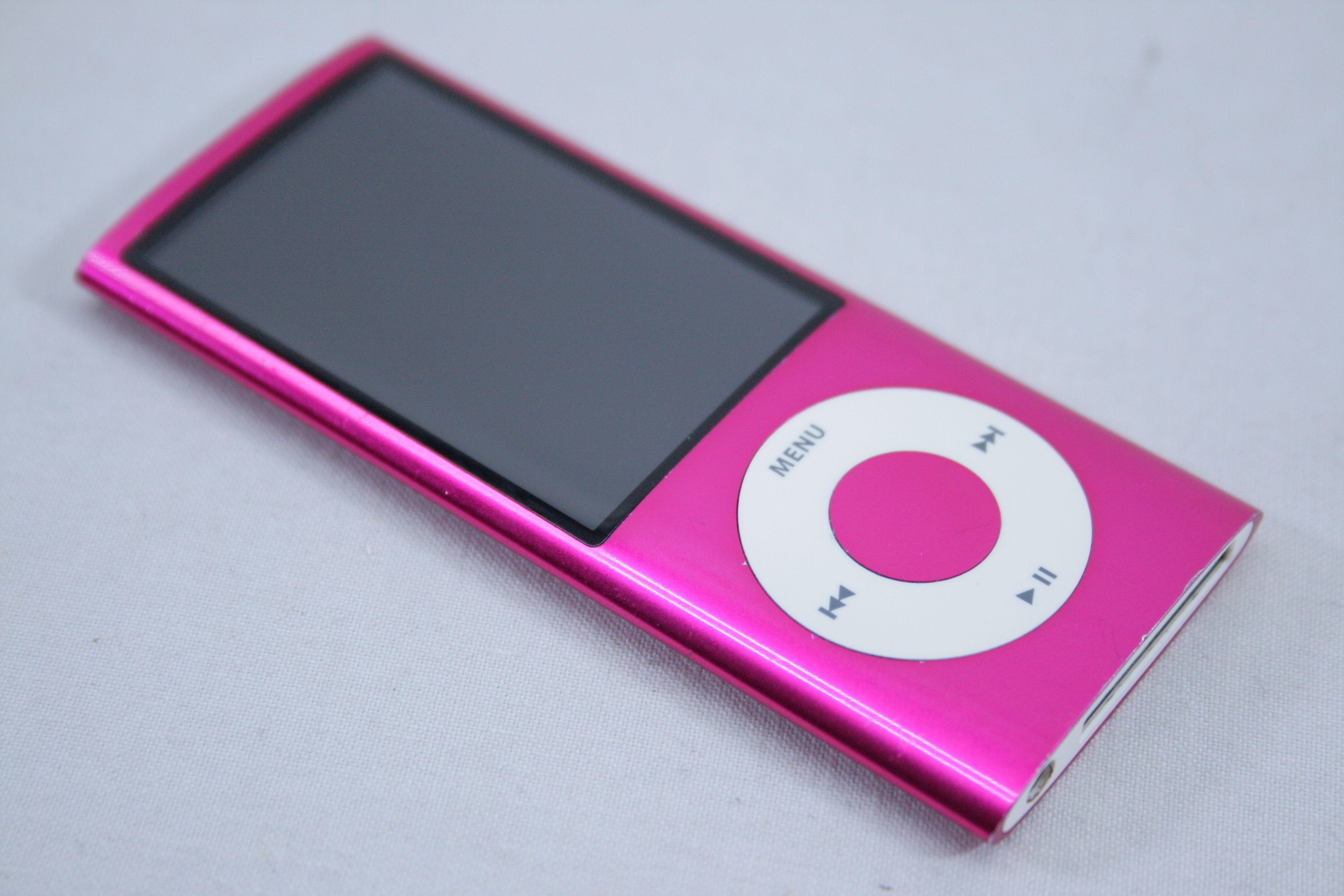 Apple iPod nano 5th Generation Pink (16GB) | eBay