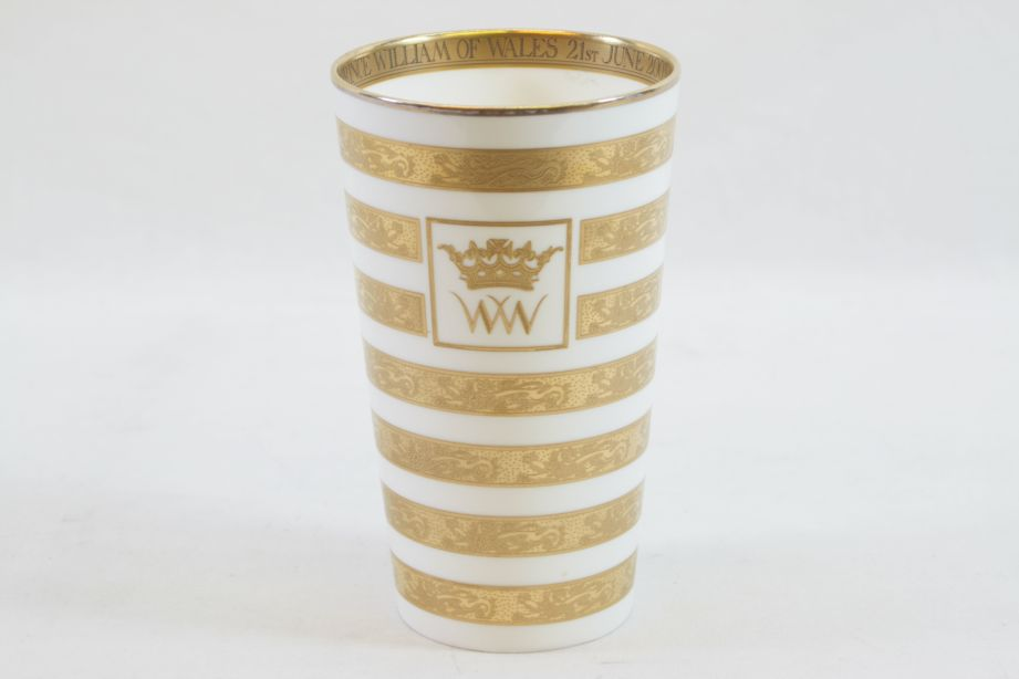 Royal Collection Prince William of Wales 21st Birthday Limited Edition Beaker