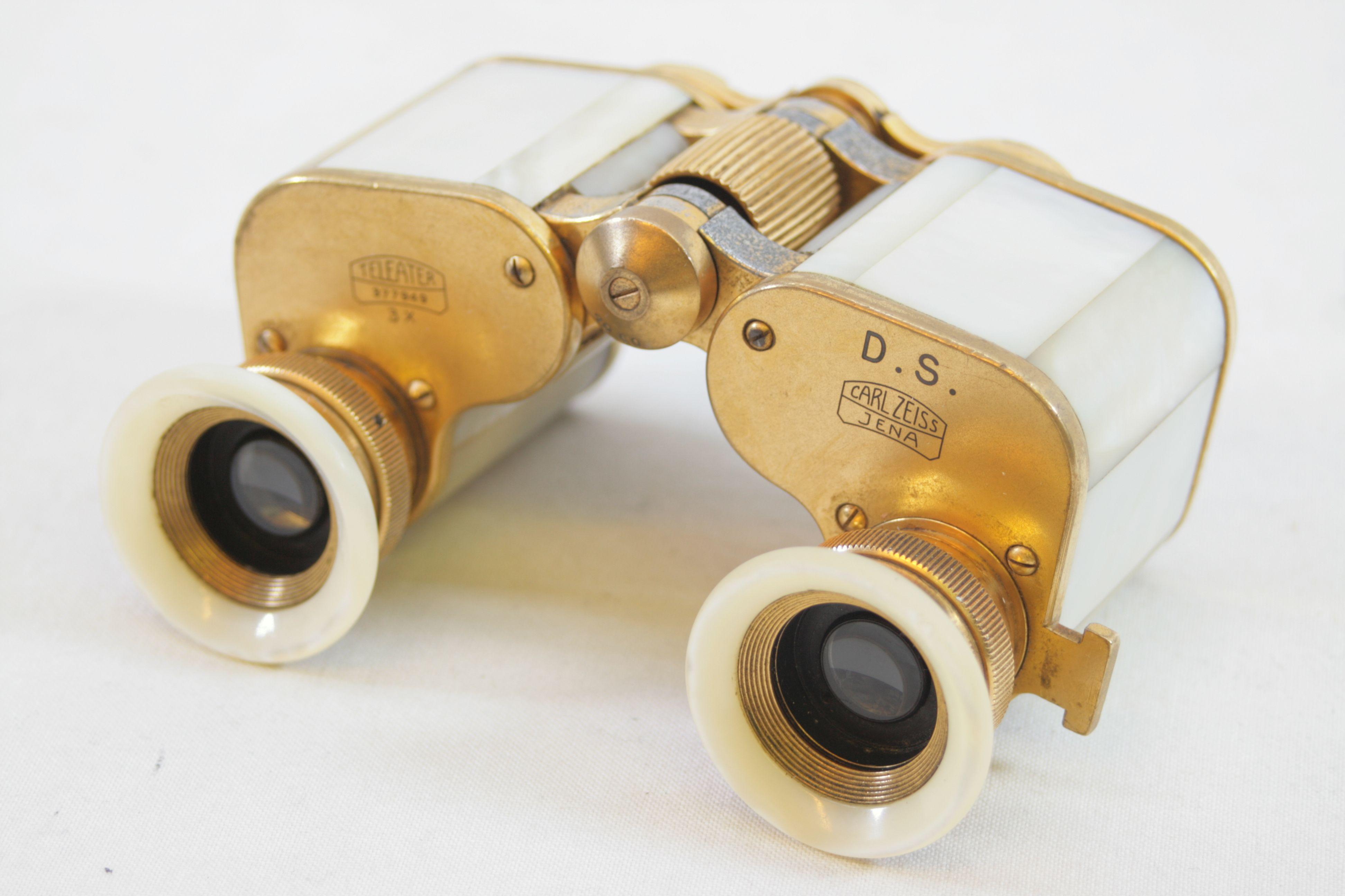 6c94ea02a86 Open Full-Size Image. Carl Zeiss Jena Teleater 3 x 13.5 Prismatic Pearl  Opera Glasses   Binoculars 3