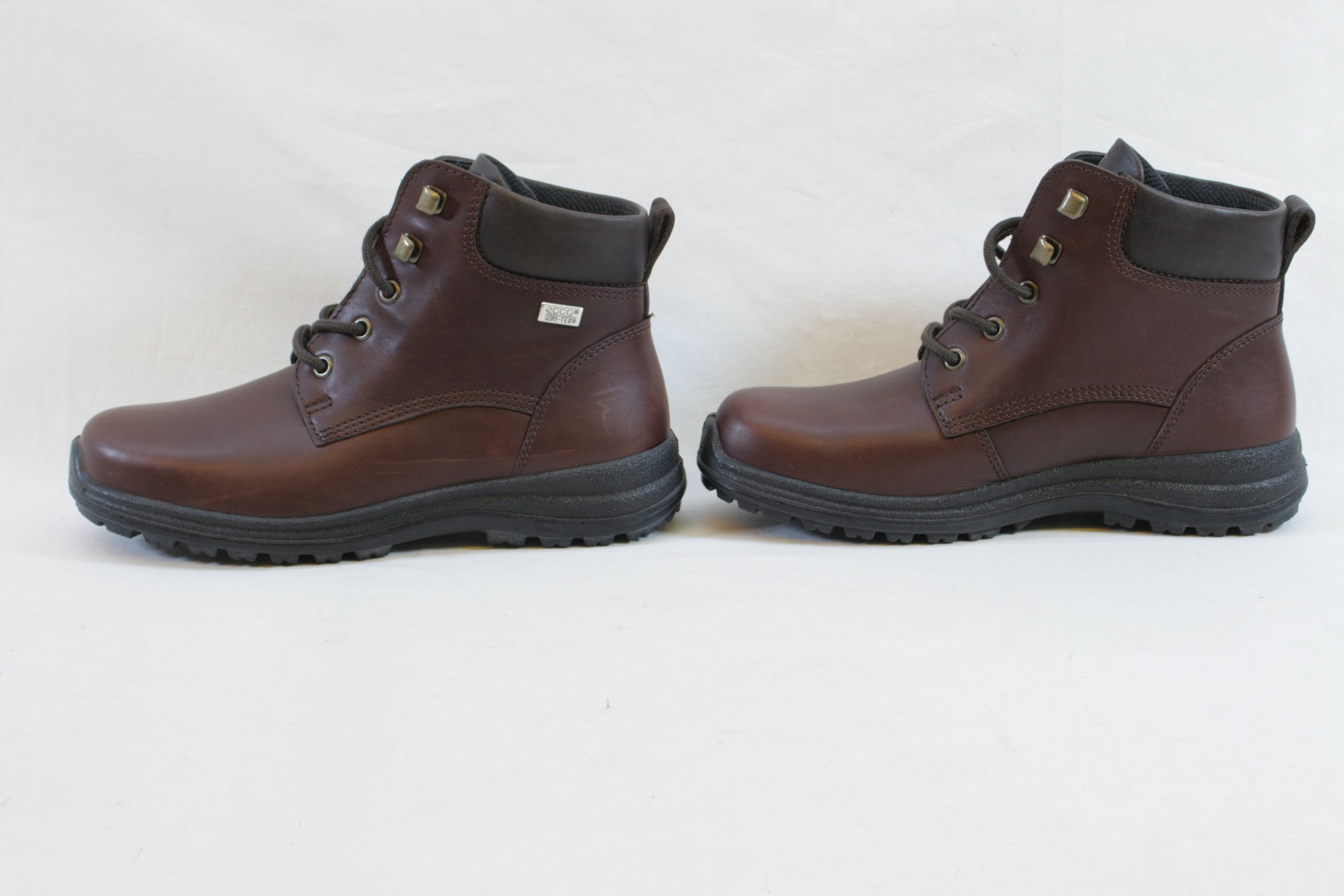 c8ca0176fdc Womens Ecco Gore-Tex Brown Leather Ankle Boots - Size UK 6 EU 39 5. Open  Full-Size Image