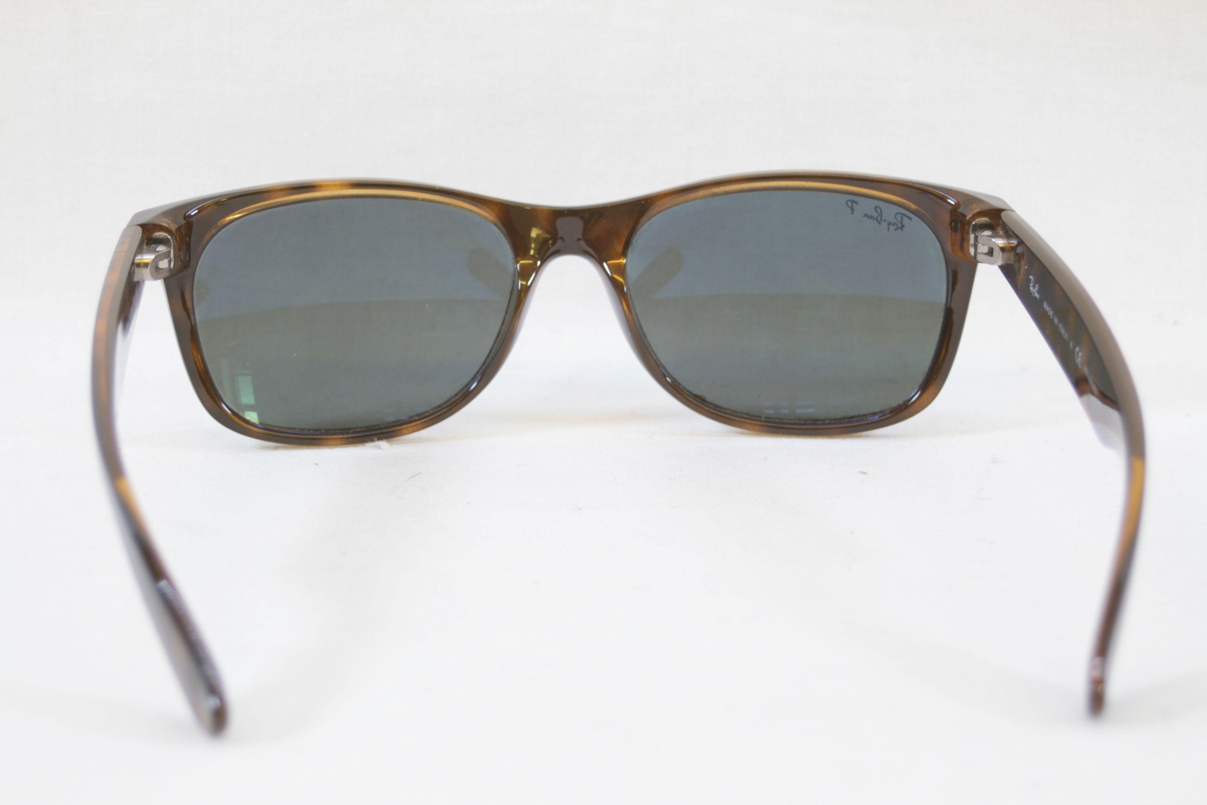 5cf1b65188fd8 Open Full-Size Image. Genuine Ray Ban New Wayfarer RB2132 902 58  Tortoiseshell Sunglasses 55-18 3