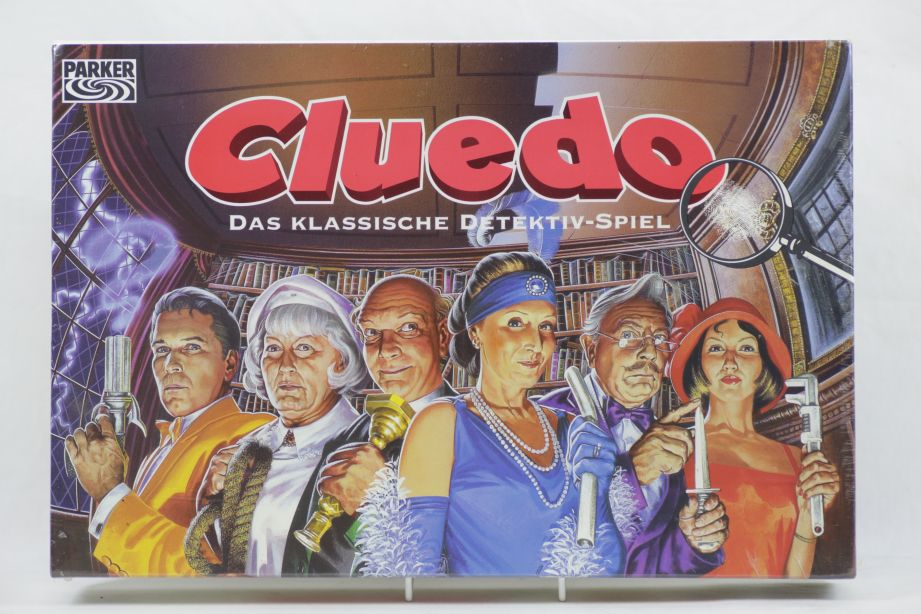 Vintage Cluedo - The Classic Detective Game 1996 (German) - Brand New & Sealed