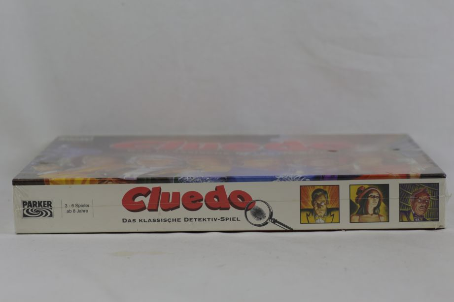Vintage Cluedo - The Classic Detective Game 1996 (German) - Brand New & Sealed 4
