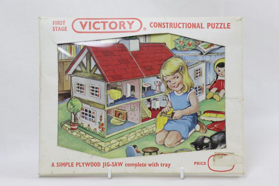 Vintage Victory First Stage Constructional Puzzle Wood Jigsaw - No. 7452