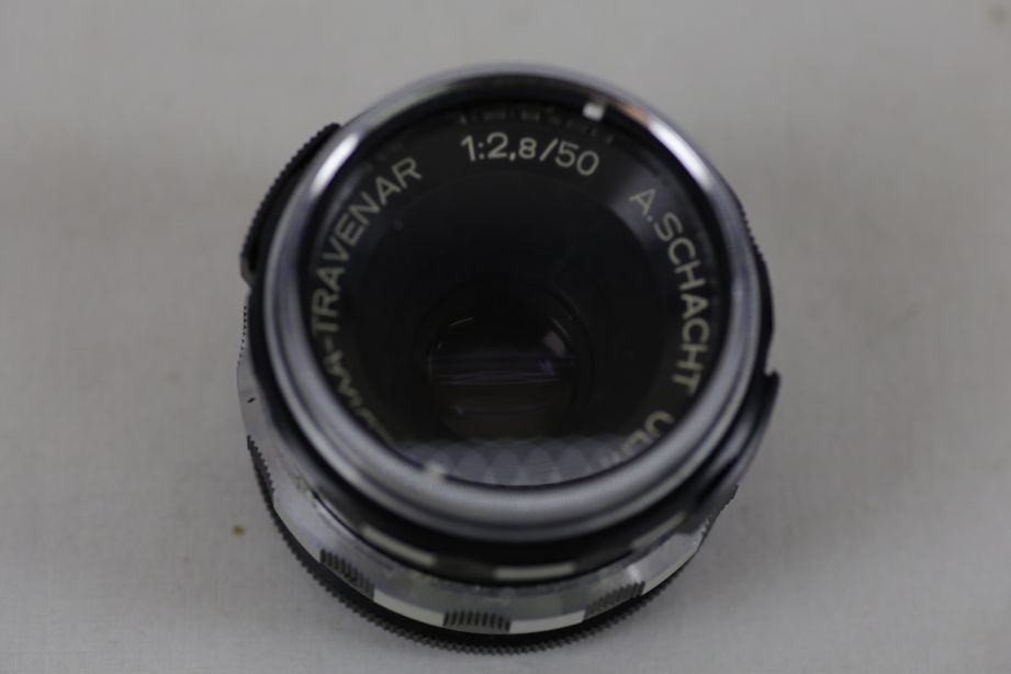 Wirgin Edixa Reflex-B SLR Film Camera with 50mm f/2.8 Prime Lens M42 Screw Mount 13