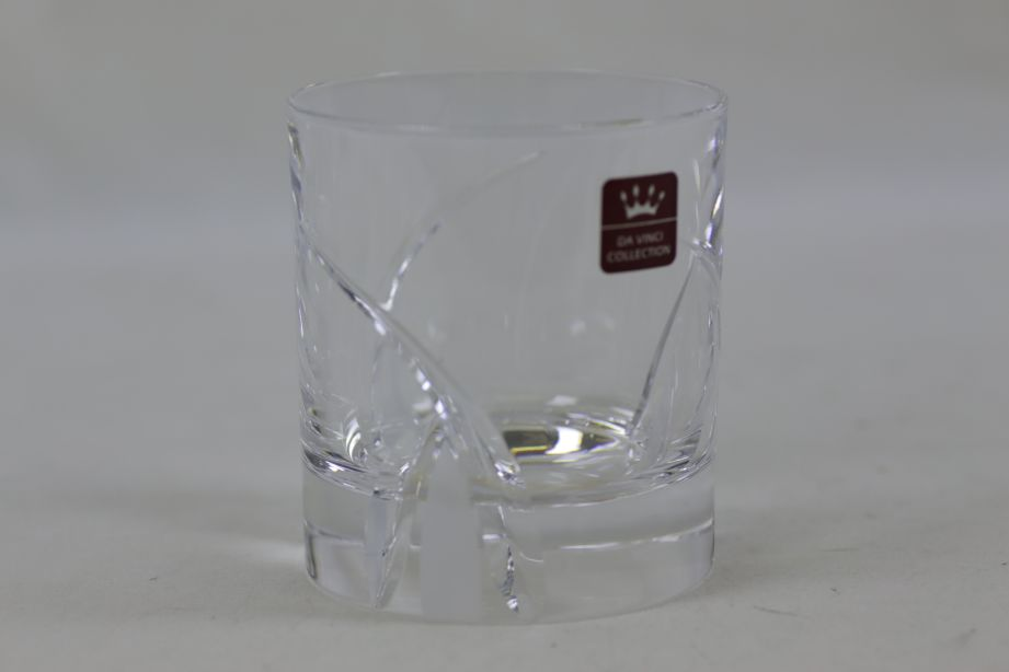 RCR Crystal Da Vinci Grosseto Old Fashioned Tumblers 29cl - Set of 6 9