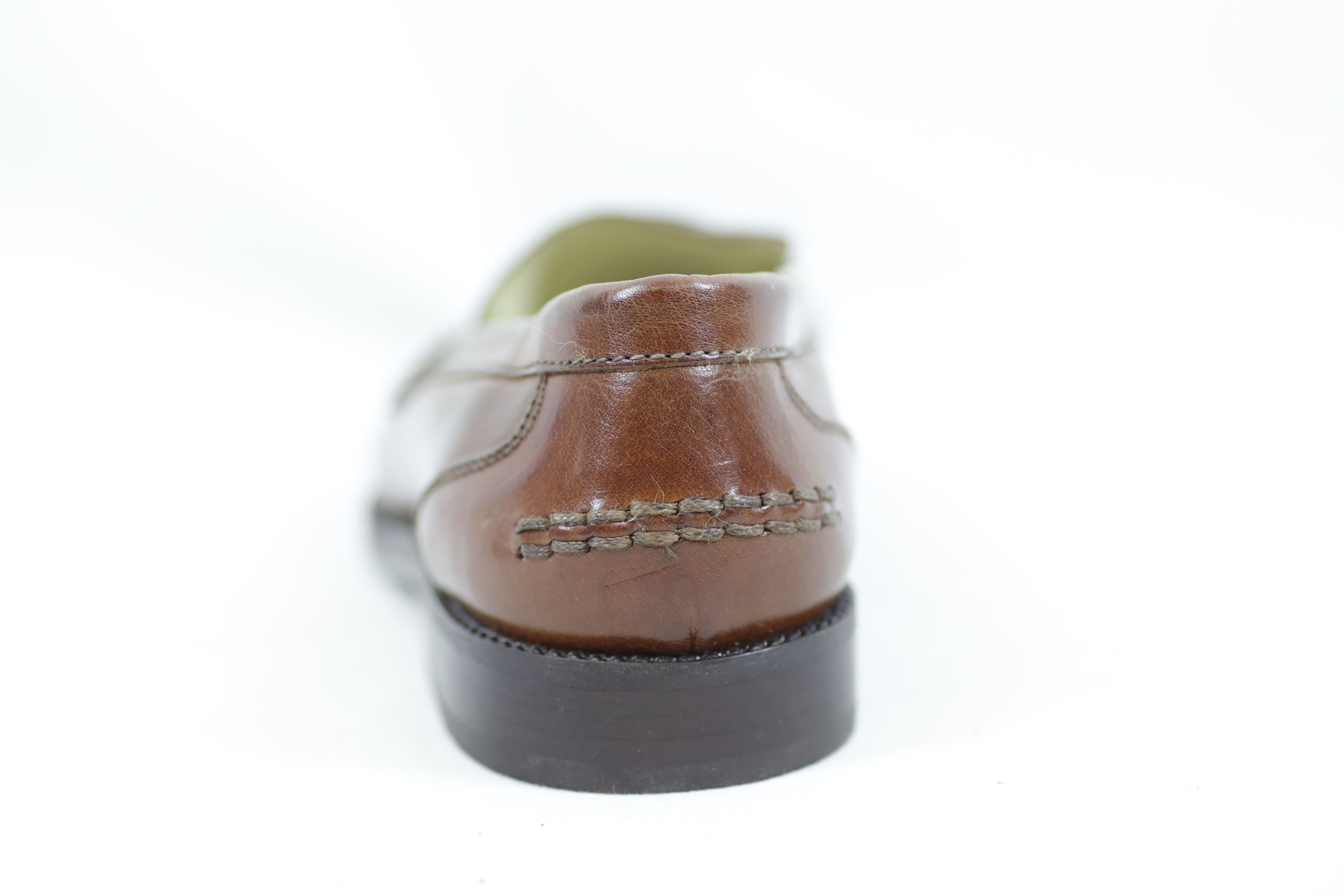 Bally Brim Classic Mid Brown Leather Shoes / Loafers - Size EU 36.5 UK 3.5 Thumbnail 4