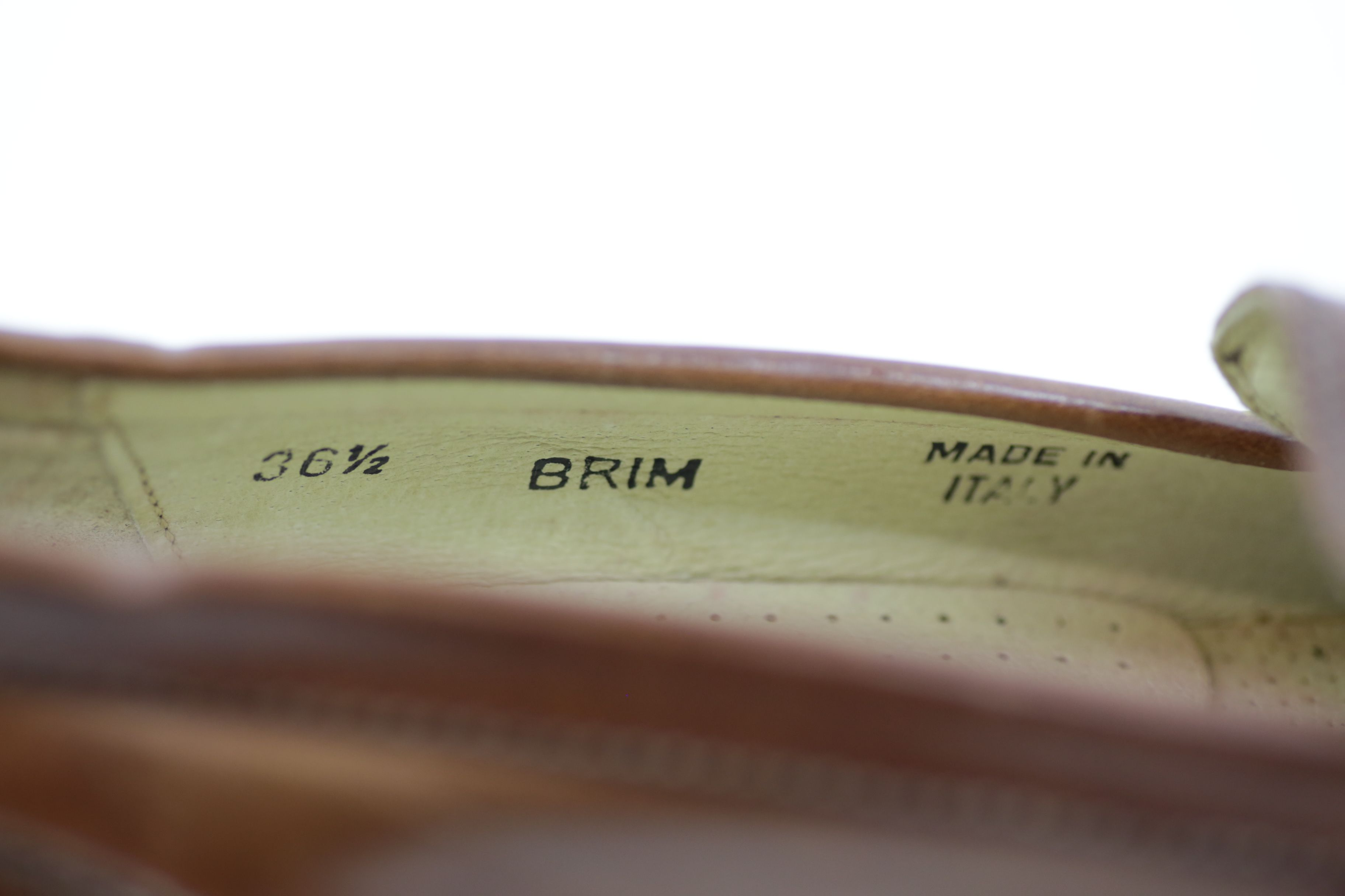 Bally Brim Classic Mid Brown Leather Shoes / Loafers - Size EU 36.5 UK 3.5 6