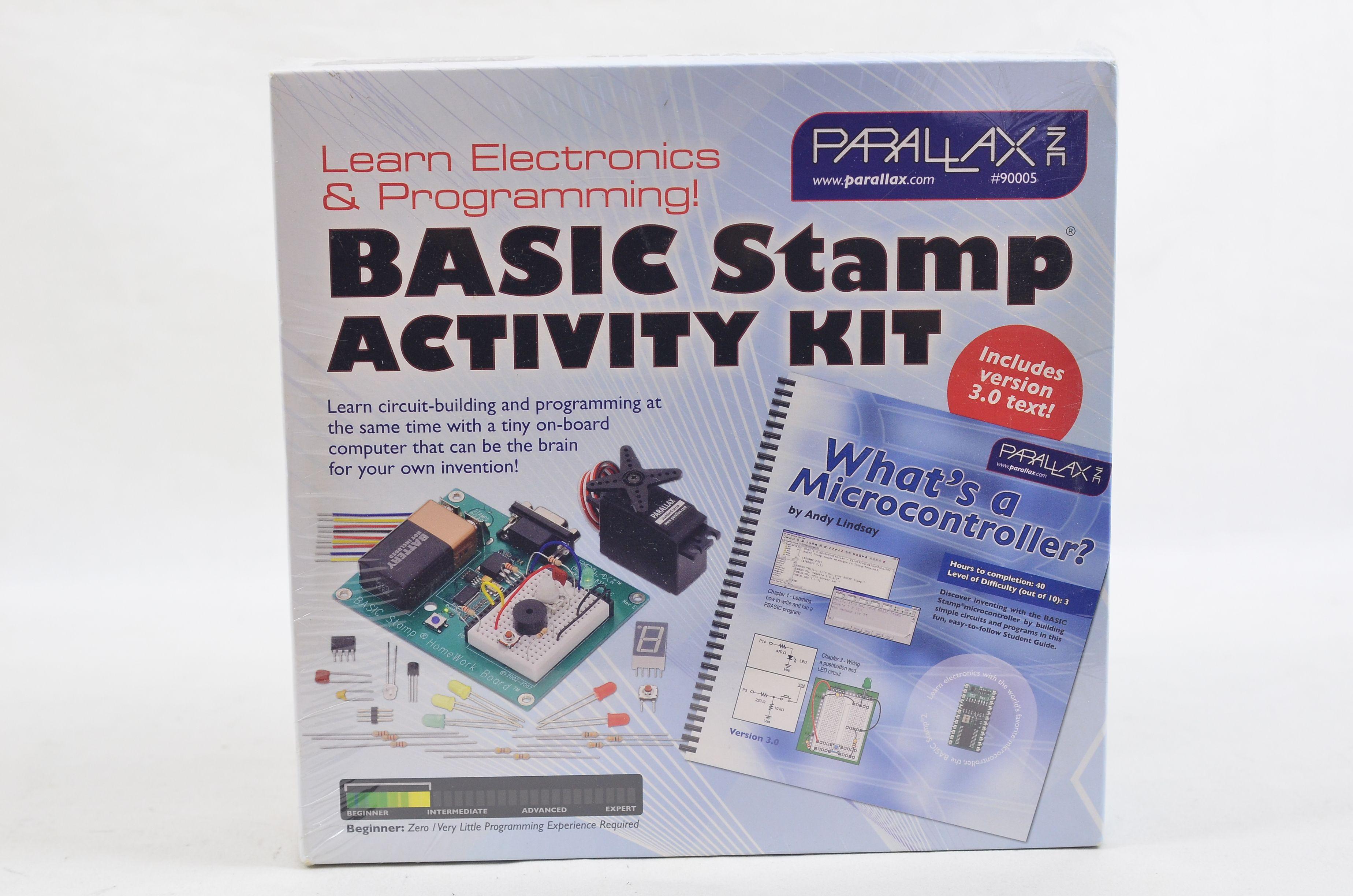 Parallax BASIC Stamp Activity Kit (Text v3.0) #90005 1