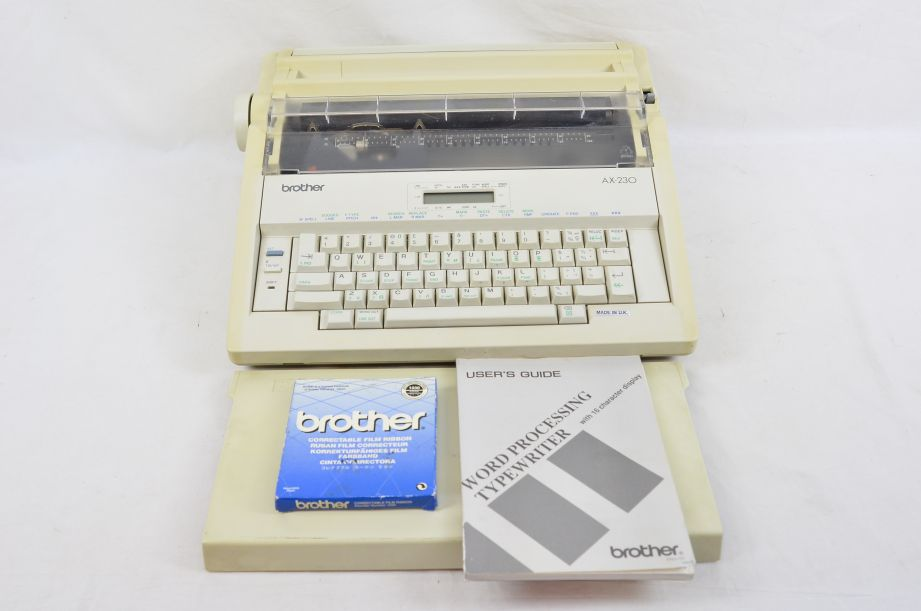 Brother AX230 Word Processing Typewriter