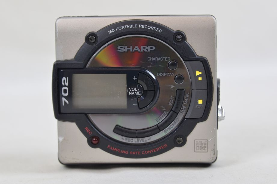 Sharp 702 MD-MS702 Portable MiniDisc Recorder Player 1