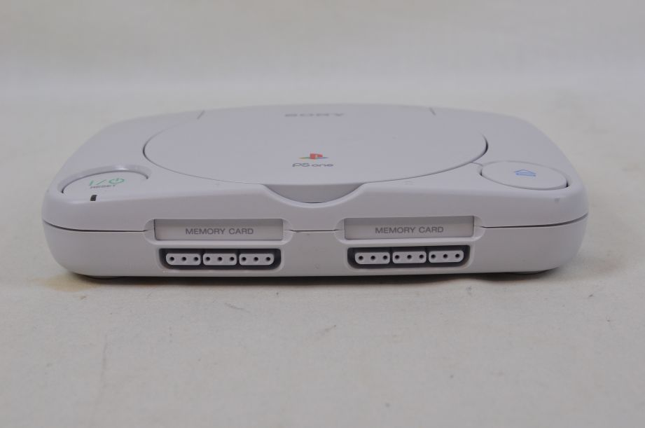 Sony PS One Console 3 Games 2 Controllers RFU Adaptor 6