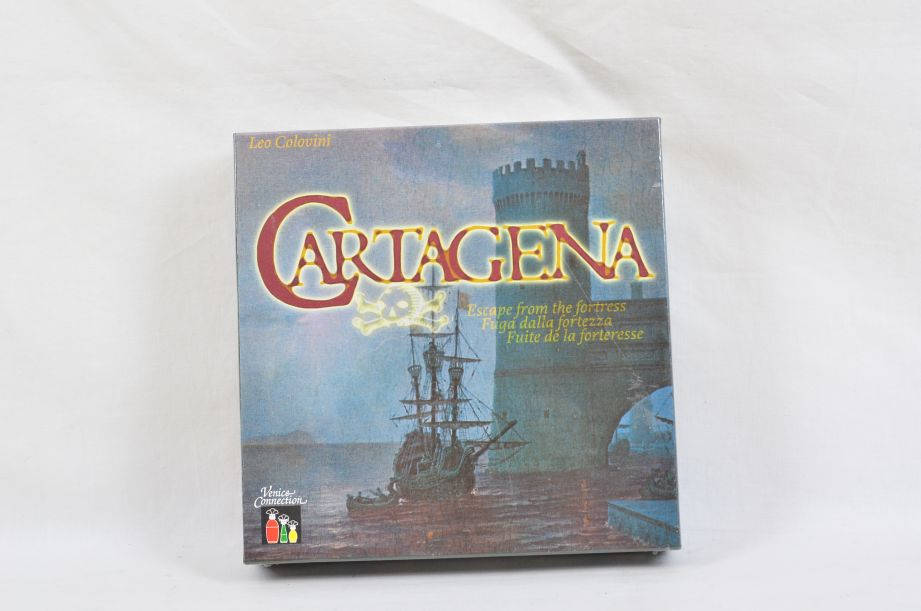 Cartagena Board Game Rio Grande Leo Colovini Venice Connection 1st Edition​