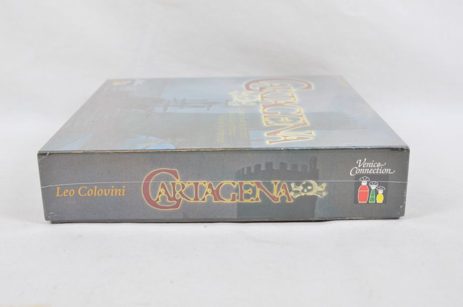 Cartagena Board Game Rio Grande Leo Colovini Venice Connection 1st Edition 3