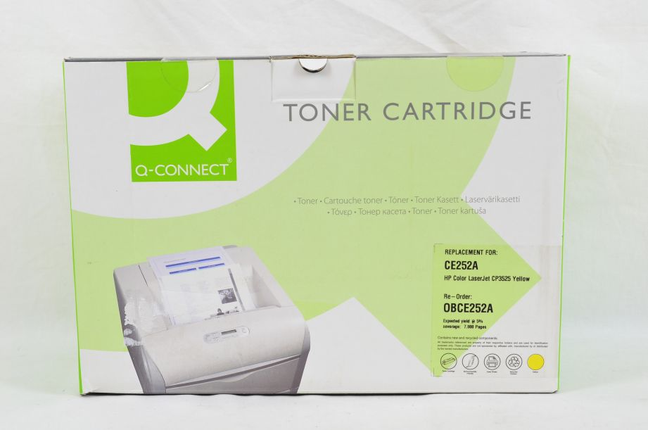 Q-Connect Compatible Toner Cartridge for HP CE252A - 7000 Pages - Yellow
