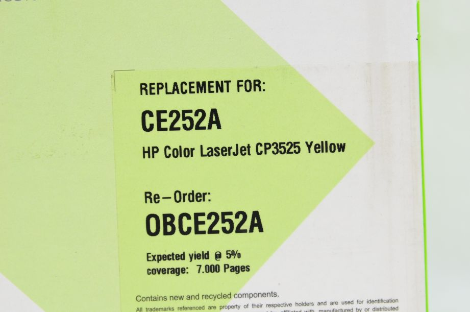 Q-Connect Compatible Toner Cartridge for HP CE252A - 7000 Pages - Yellow 2