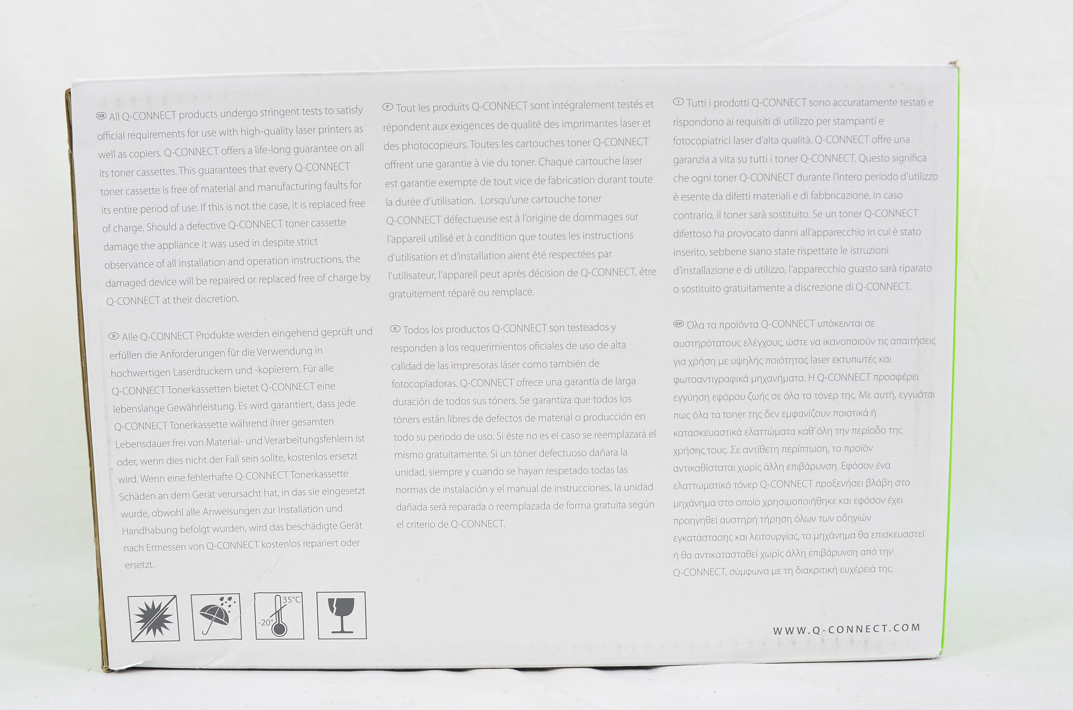 Q-Connect Compatible Toner Cartridge for HP CE251A - 7000 Pages - Cyan 4