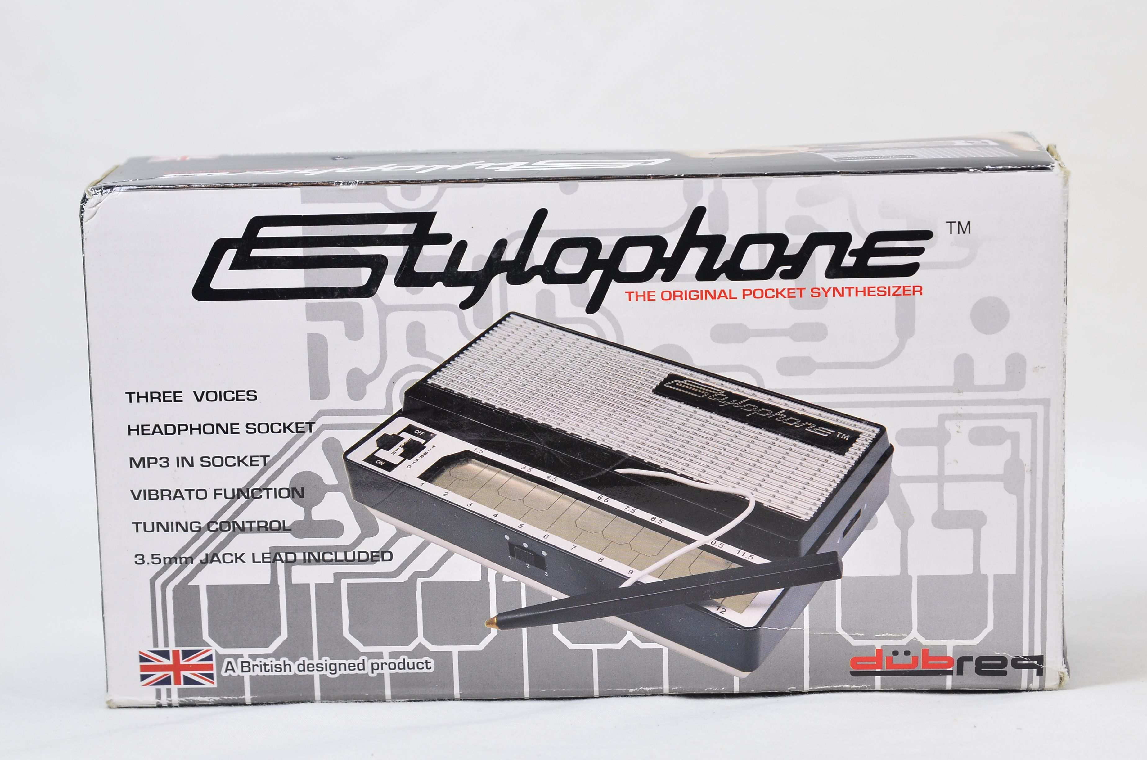 Dubreq Stylophone - The Original Pocket Synthesizer S-1 Pocket Electronic Organ 2