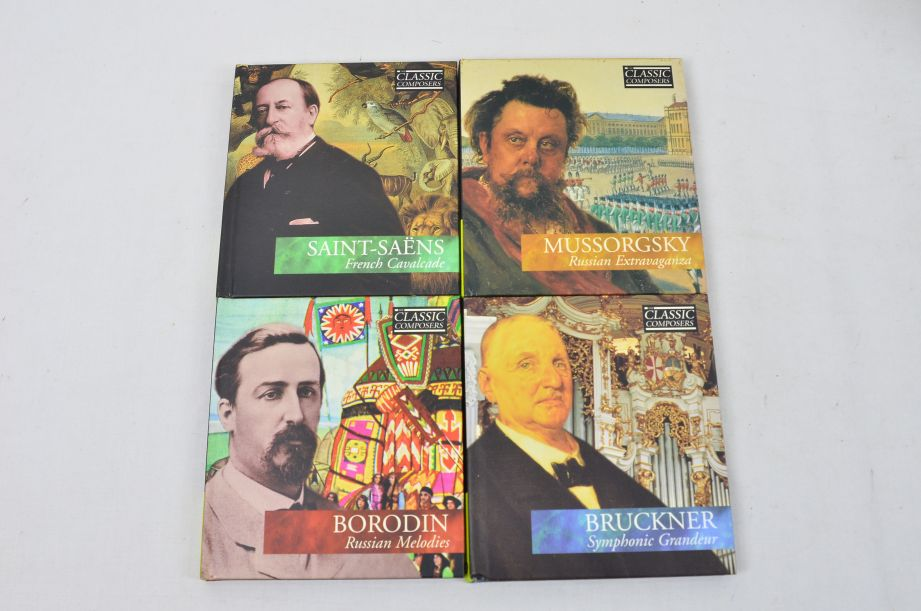 The Classic Composers 63 CD's And Booklets Collection 11