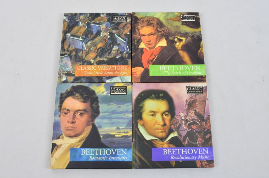 The Classic Composers 63 CD's And Booklets Collection 13