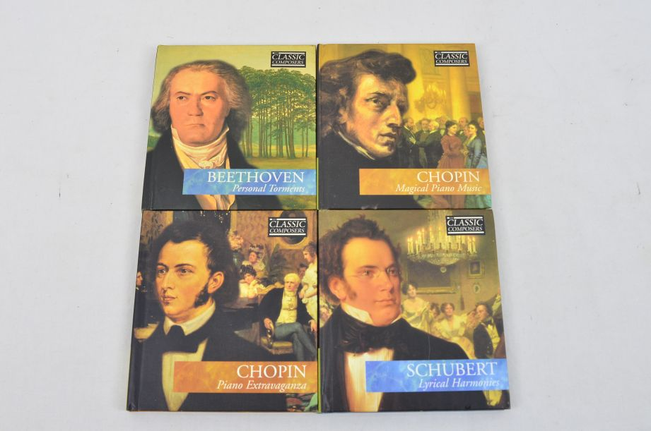 The Classic Composers 63 CD's And Booklets Collection 14