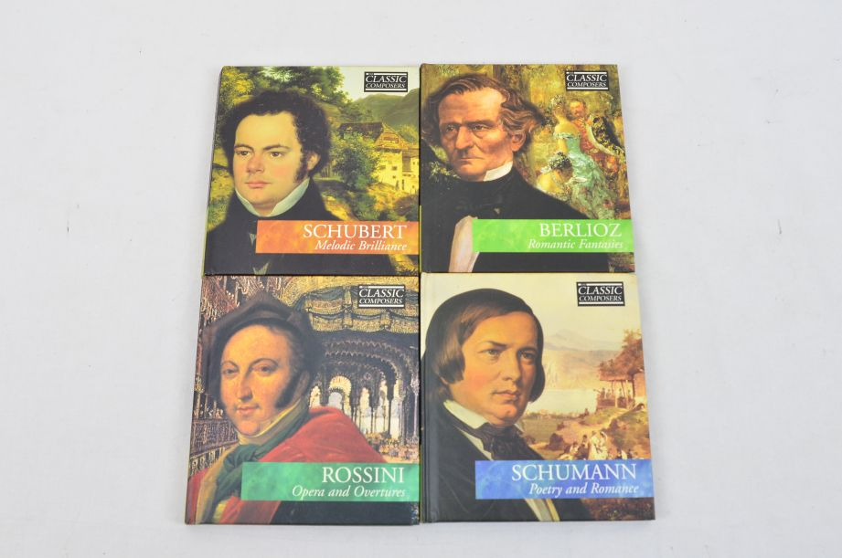 The Classic Composers 63 CD's And Booklets Collection 15