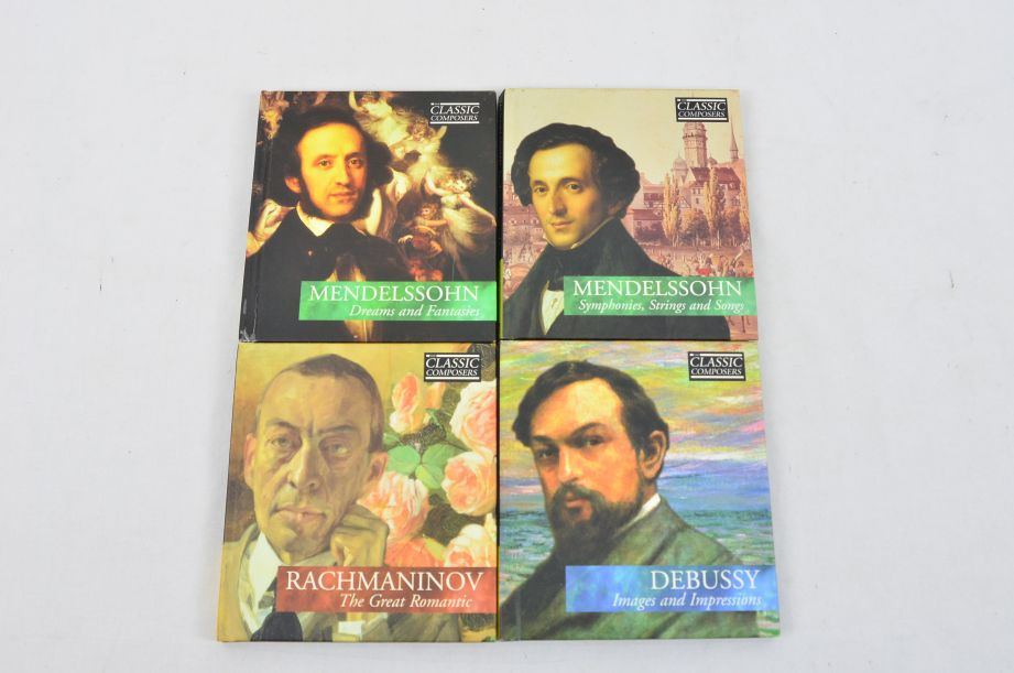 The Classic Composers 63 CD's And Booklets Collection 16