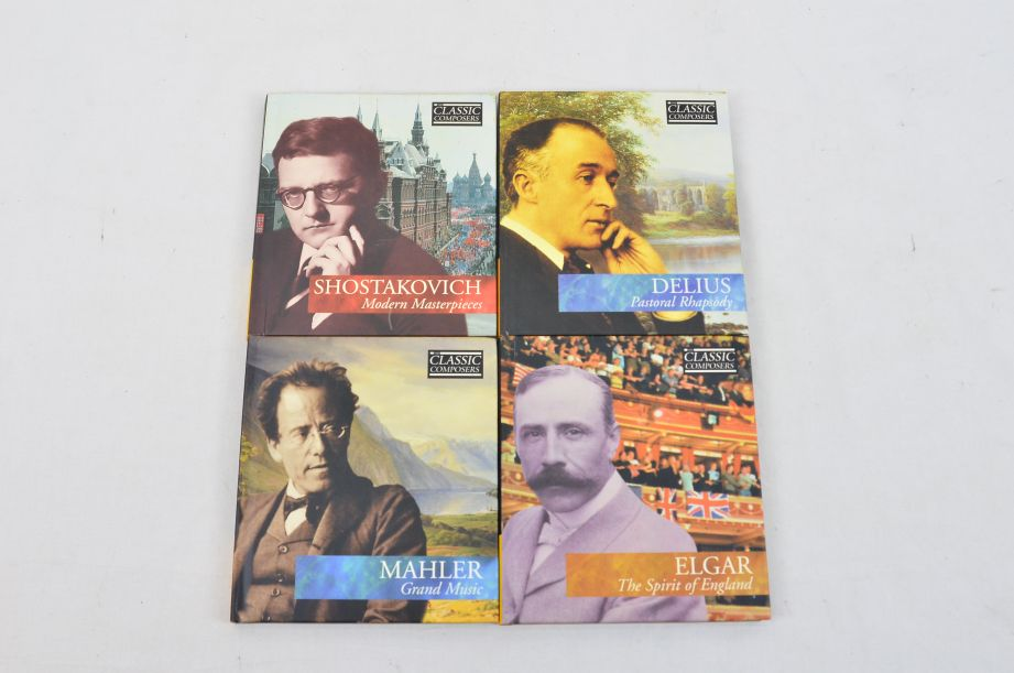 The Classic Composers 63 CD's And Booklets Collection 18