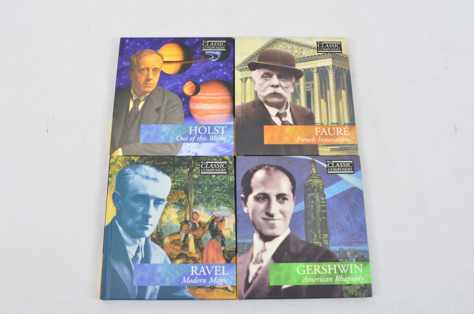 The Classic Composers 63 CD's And Booklets Collection 19