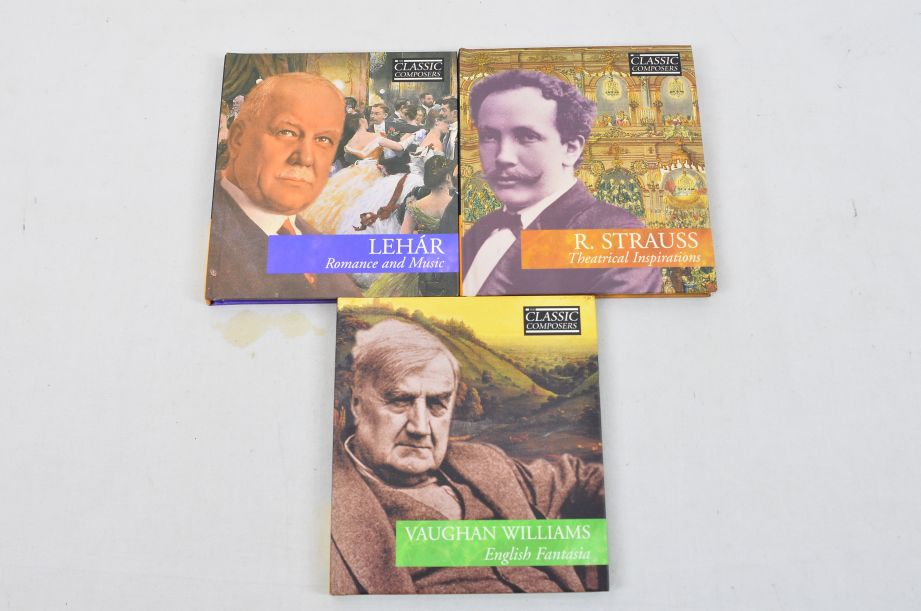 The Classic Composers 63 CD's And Booklets Collection 20