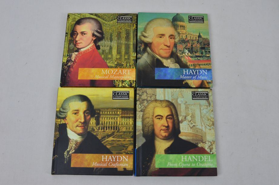 The Classic Composers 63 CD's And Booklets Collection 5