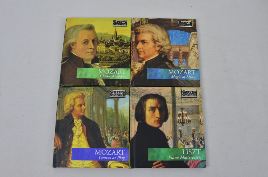The Classic Composers 63 CD's And Booklets Collection 6
