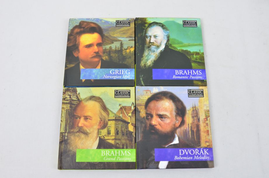 The Classic Composers 63 CD's And Booklets Collection 8