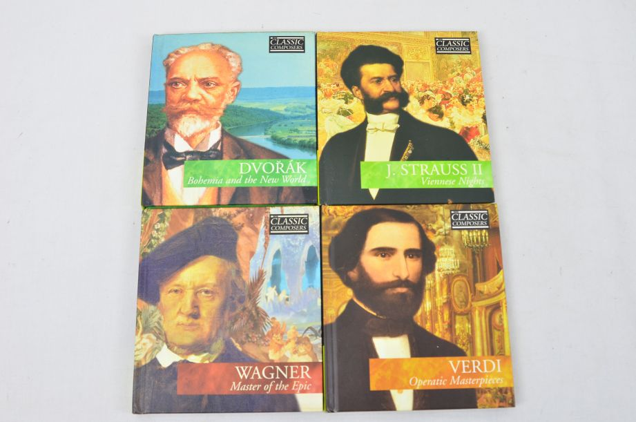 The Classic Composers 63 CD's And Booklets Collection 9