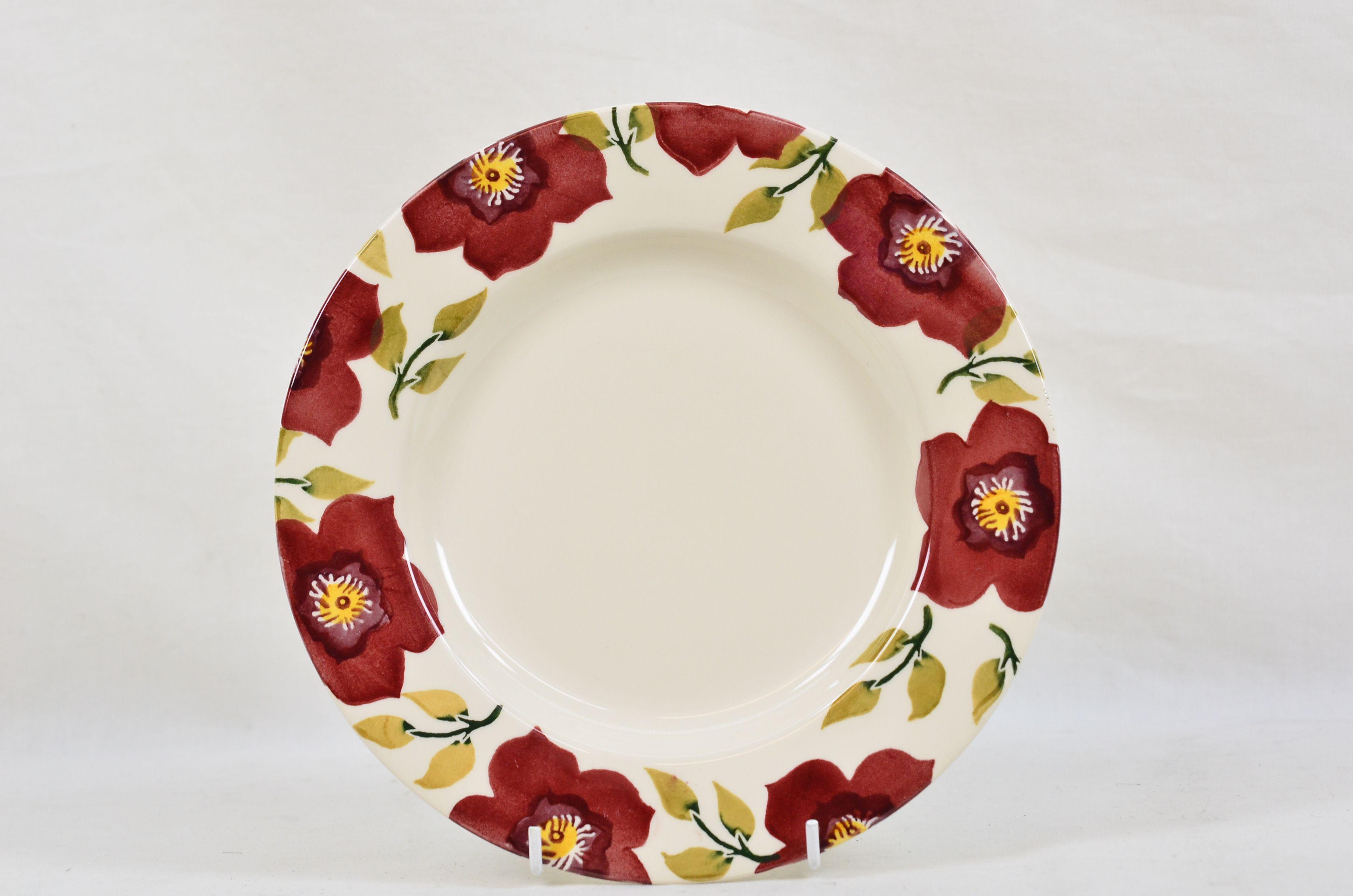 Emma Bridgewater Christmas Rose / Hellebore Floral Plate Thumbnail 1
