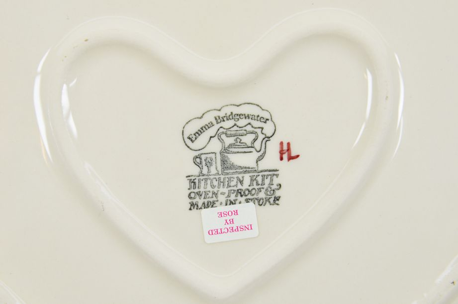 Emma Bridgewater Kitchen Kit Christmas Joy Robin Heart Baker Dish/Bowl 3