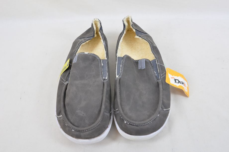 Hey Dude Gus Winter Charcoal UK Size 11 2