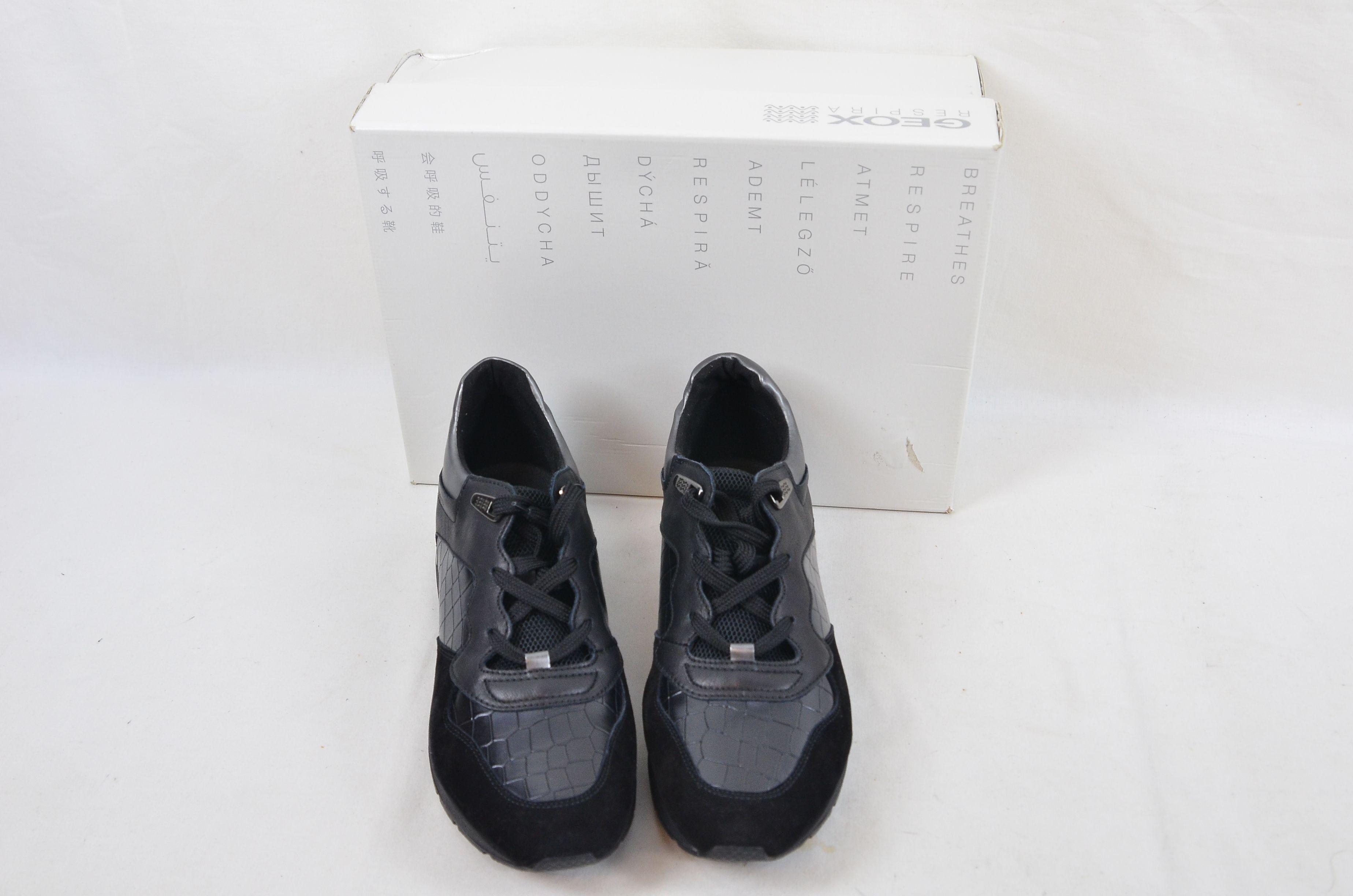 Geox Respira D Shahira Black UK Size 6 1