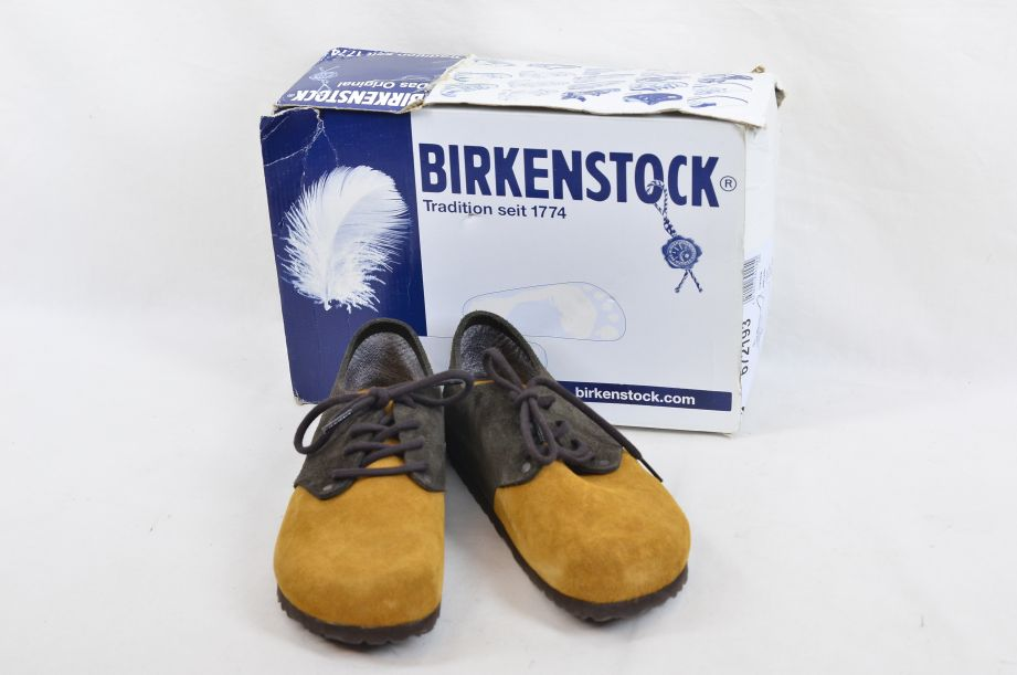 Birkenstock Maine Tan And Brown​