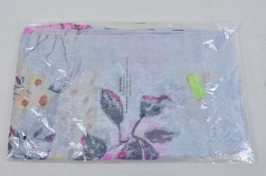 Hotter Scarf Grey Floral Blossom Style 2
