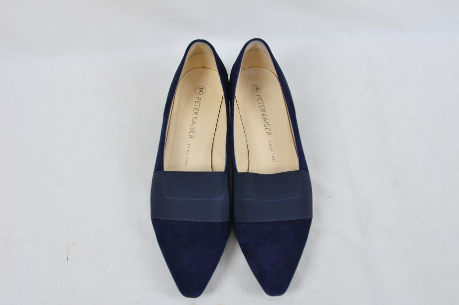 Peter Kaiser Lagos Navy Suede Shoes 25 2