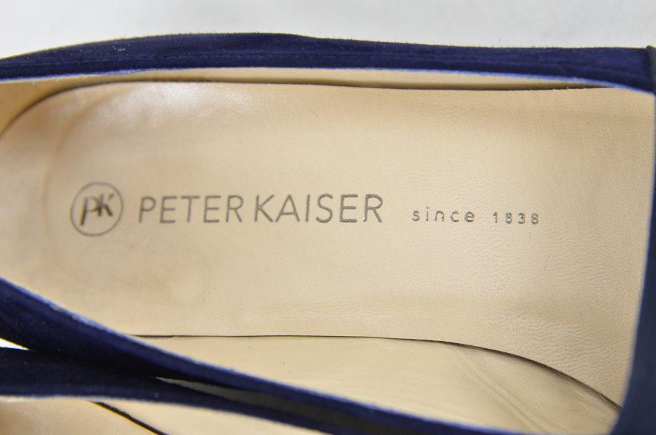 Peter Kaiser Lagos Navy Suede Shoes 25 3