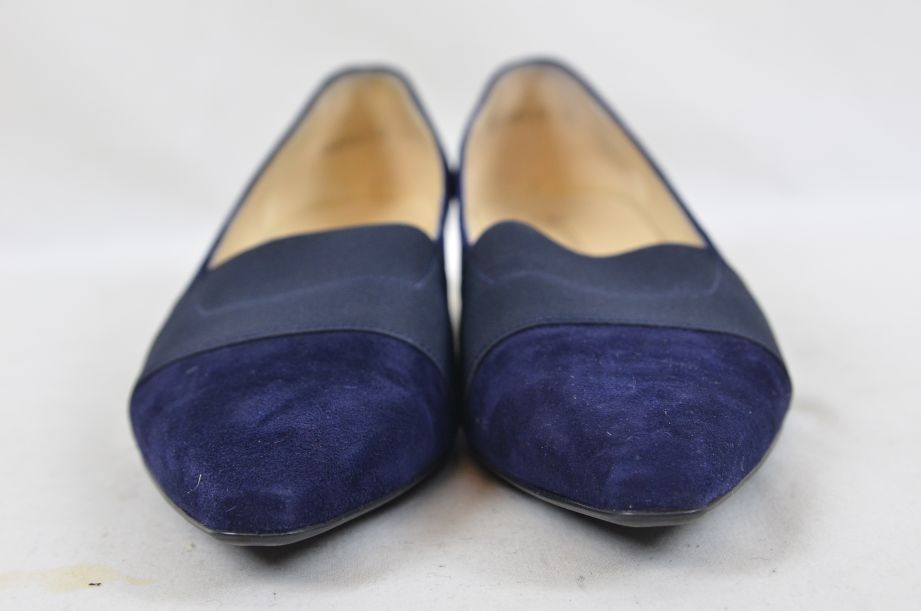 Peter Kaiser Lagos Navy Suede Shoes 25 4