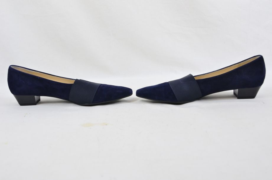 Peter Kaiser Lagos Navy Suede Shoes 25 7