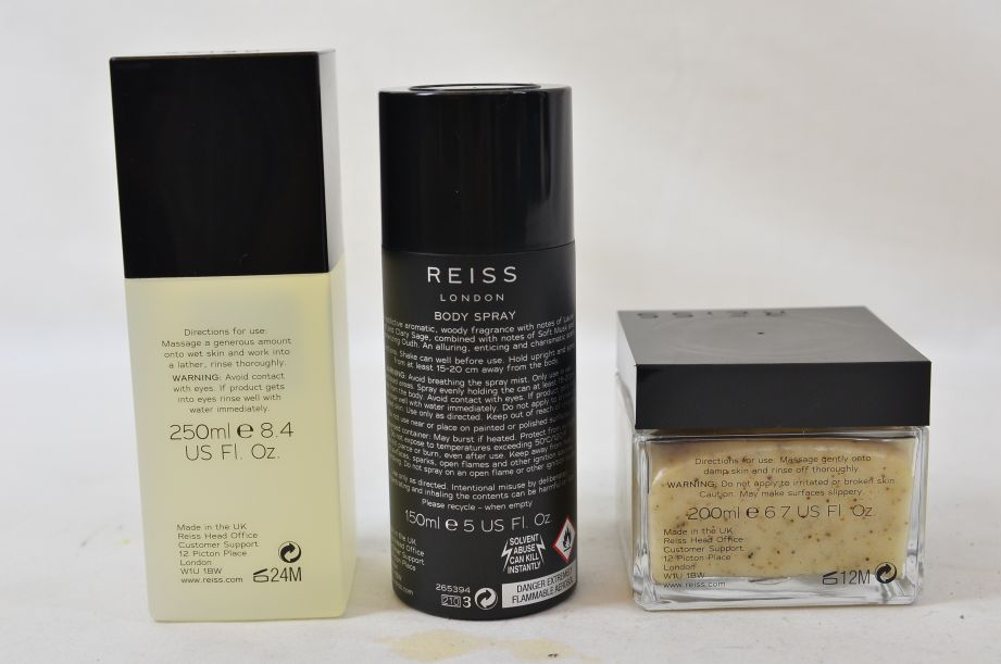 Reiss London Bath Collection Gift Set for Men 3